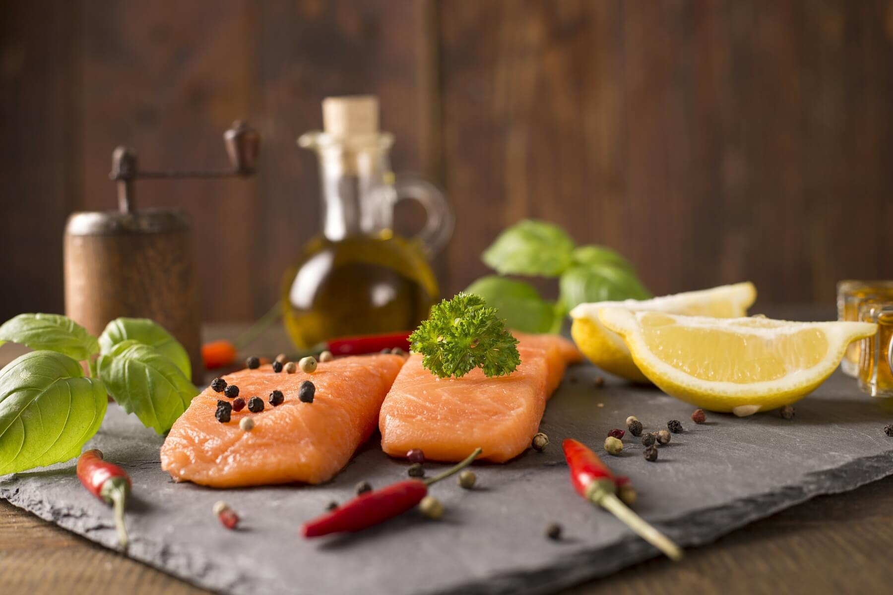 Salmon Recipe - Salmon with Chilli and Ginger