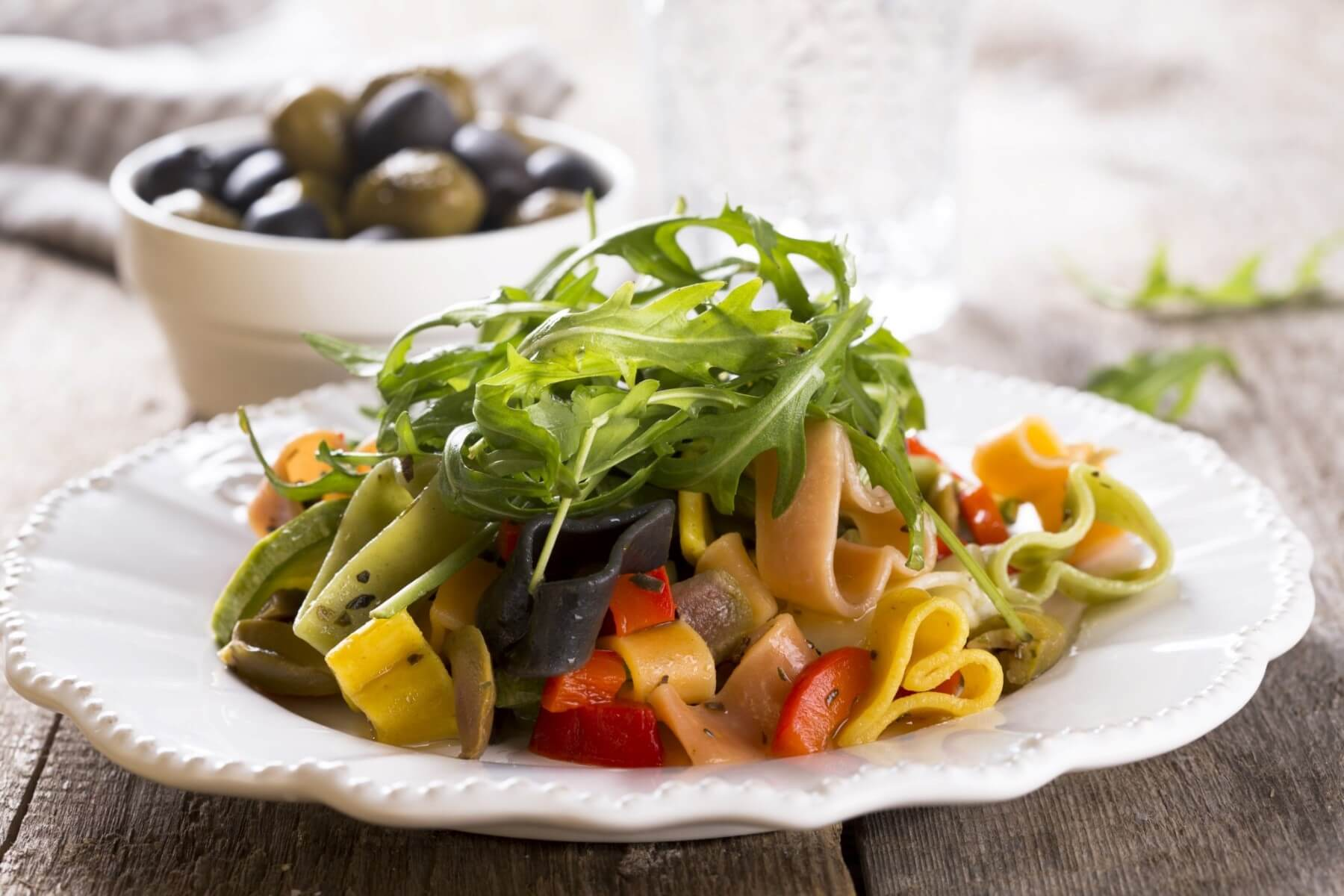 Greek Style Pasta Salad Recipe and Wine Pairing
