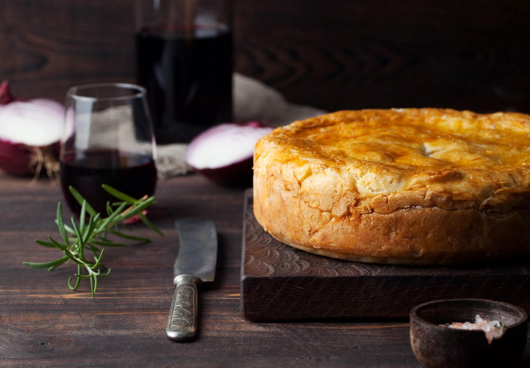 Steak and Ale Pie Recipe and Wine Pairing