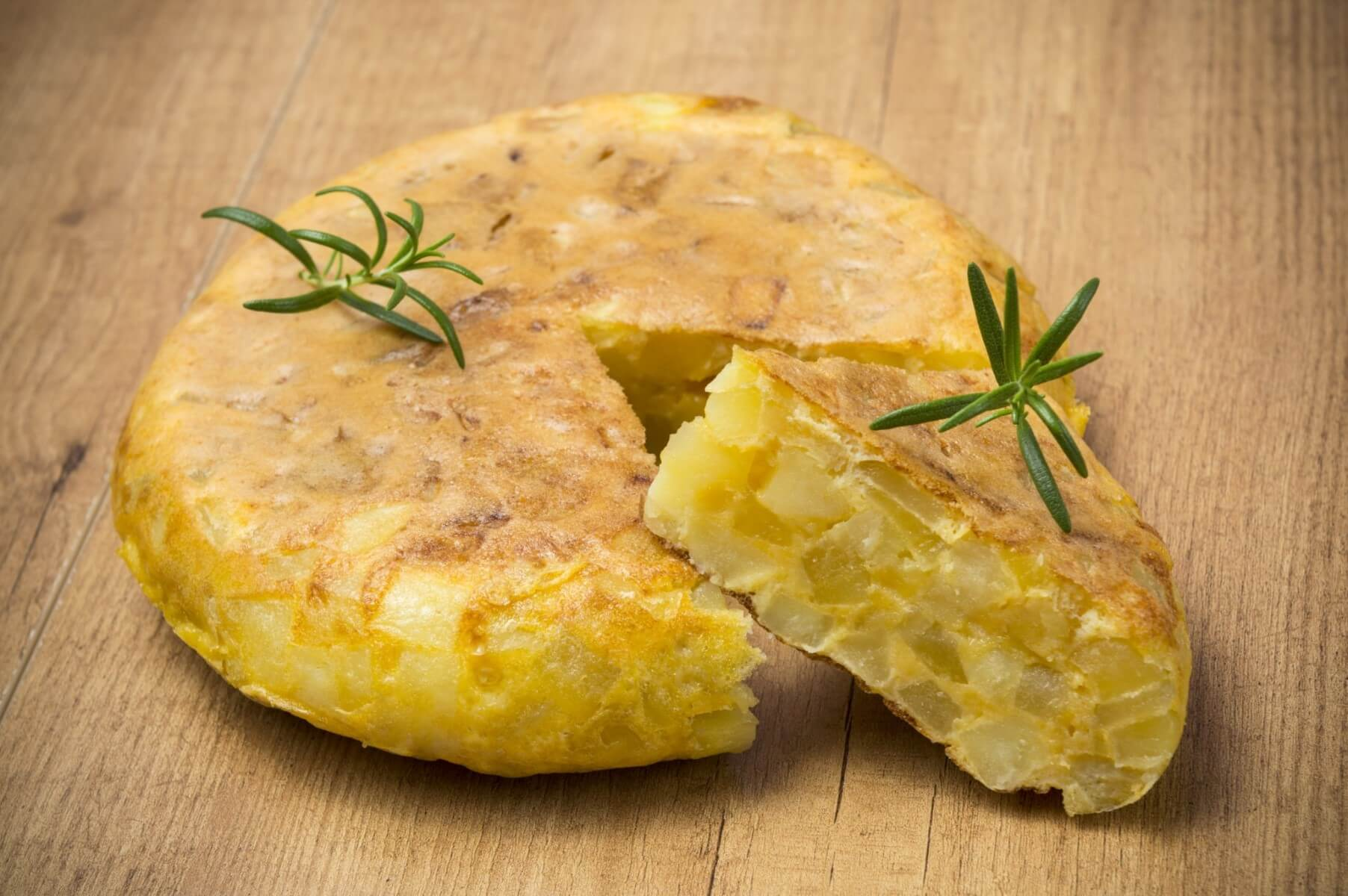 Tortilla Patata Recipe and Wine Pairing