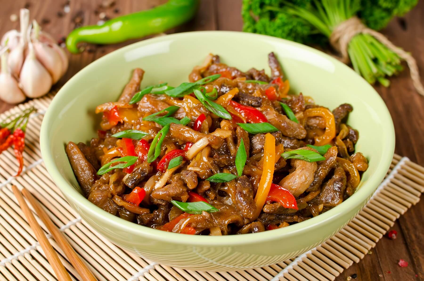 Stir Fried Pork With Ginger Recipe