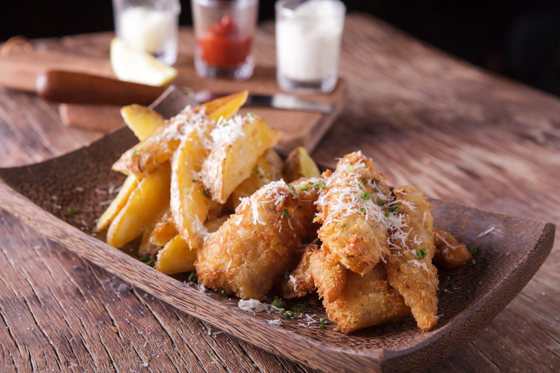 Posh Fish and Chips Recipe