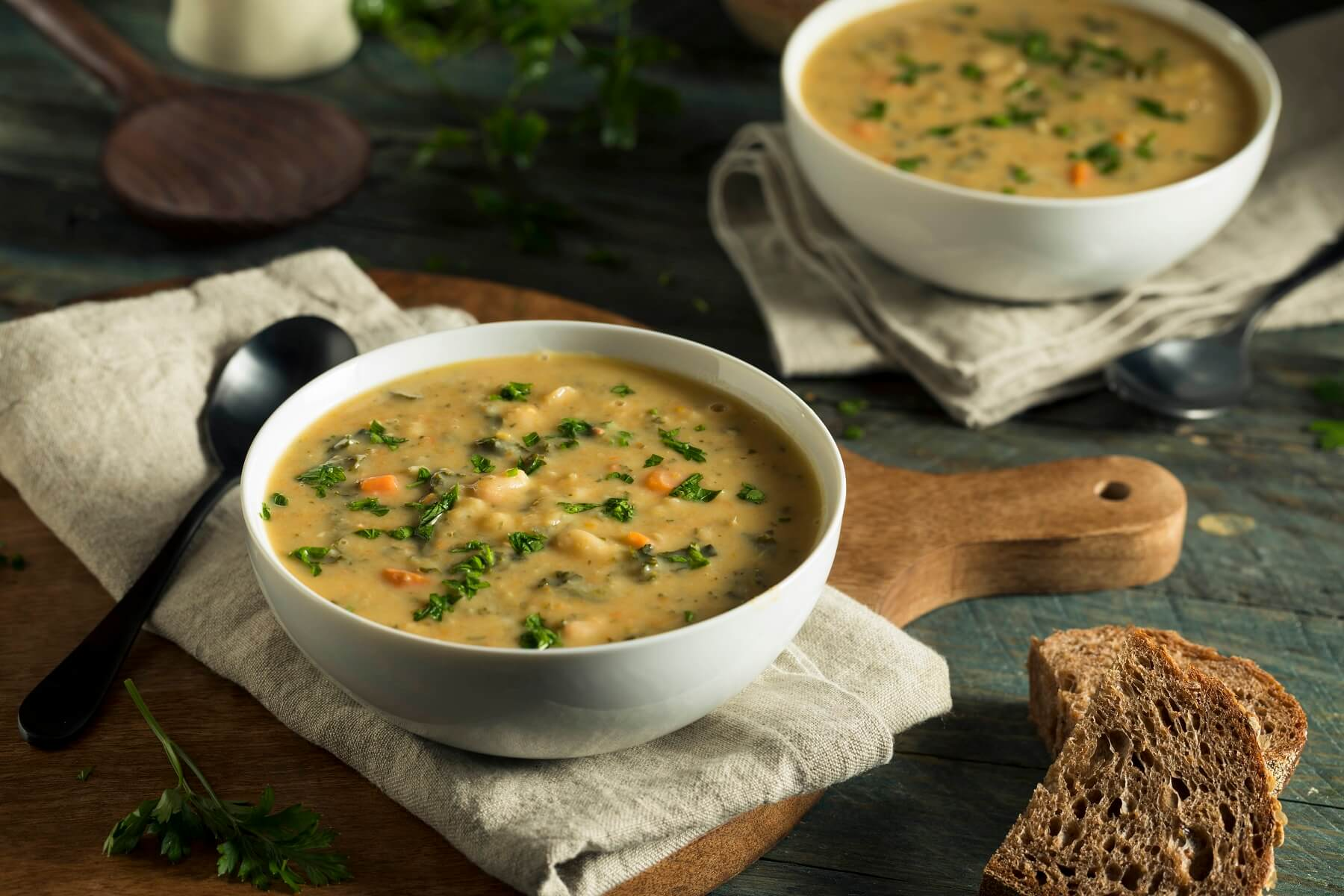 Traditional Tuscan Bean Soup Recipe