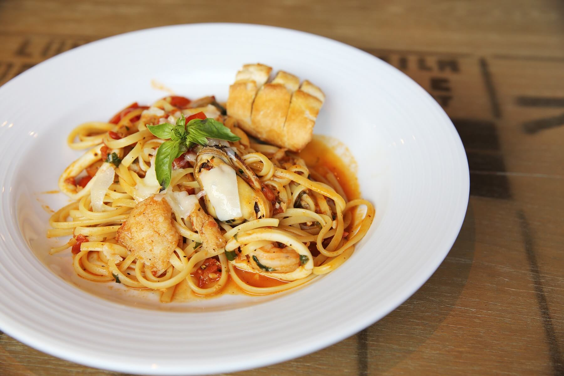 Chilli Crab Linguine