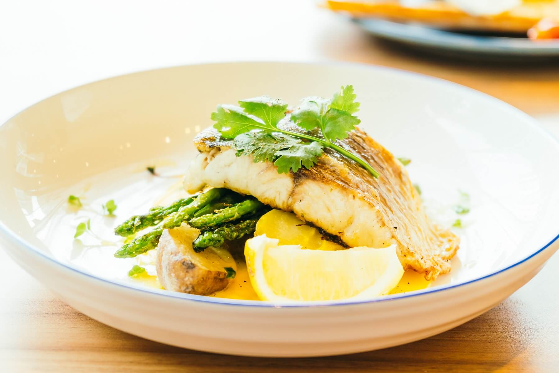Barramundi In Lemon Butter Recipe The Wine Gallery