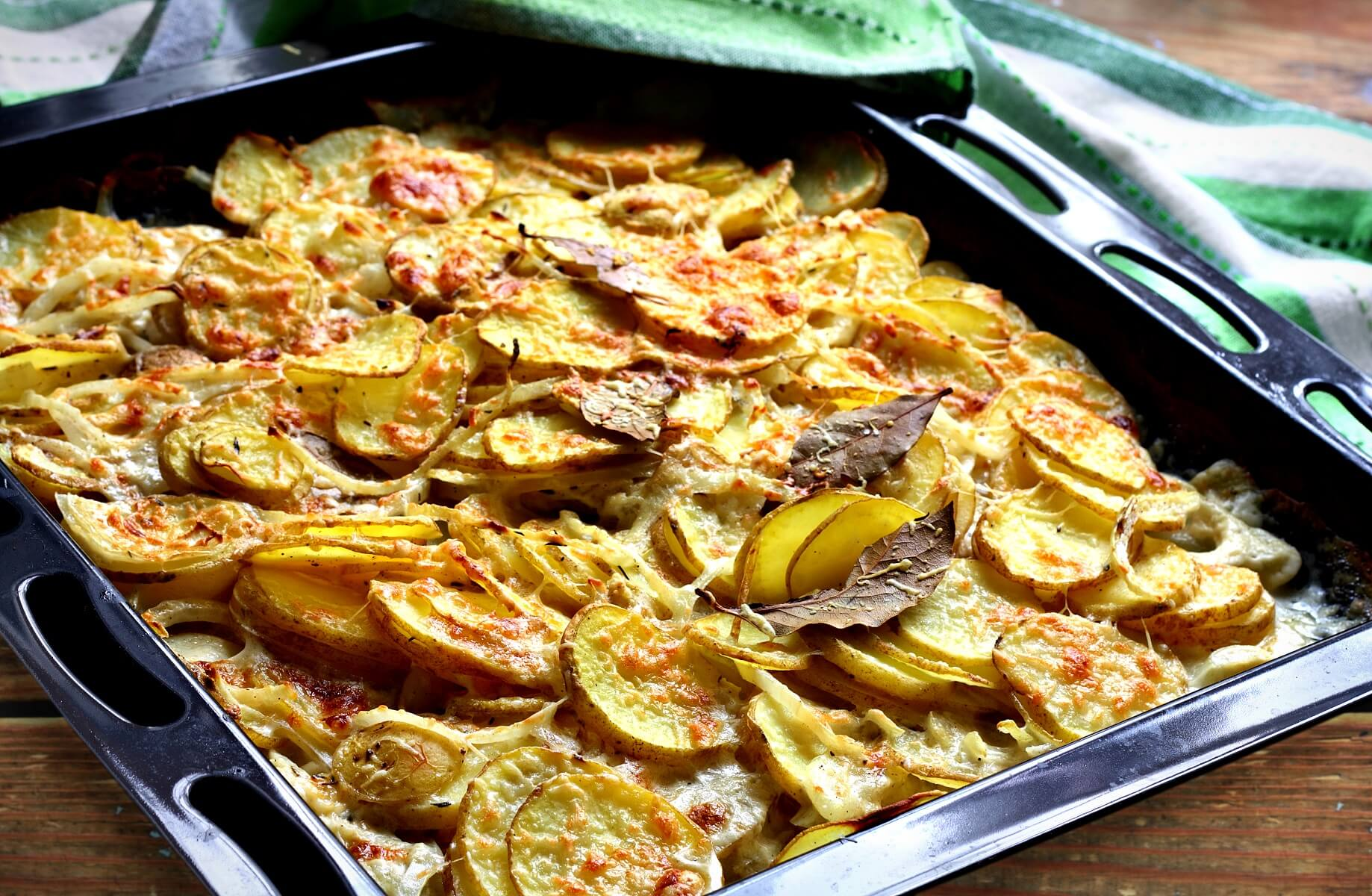 Smoked Salmon Dauphinoise Potatoes Recipe