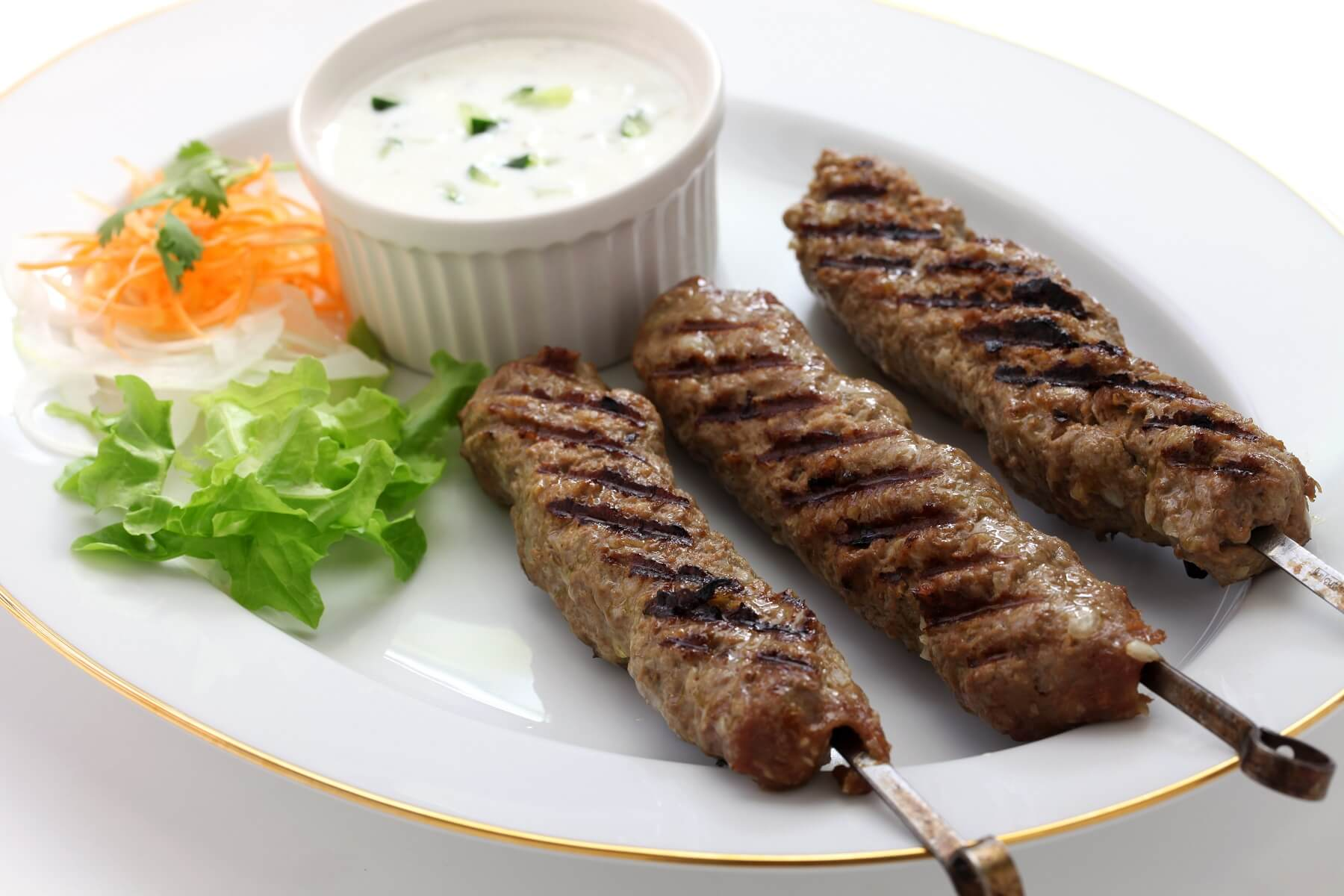 Indian Lamb Skewers Recipe