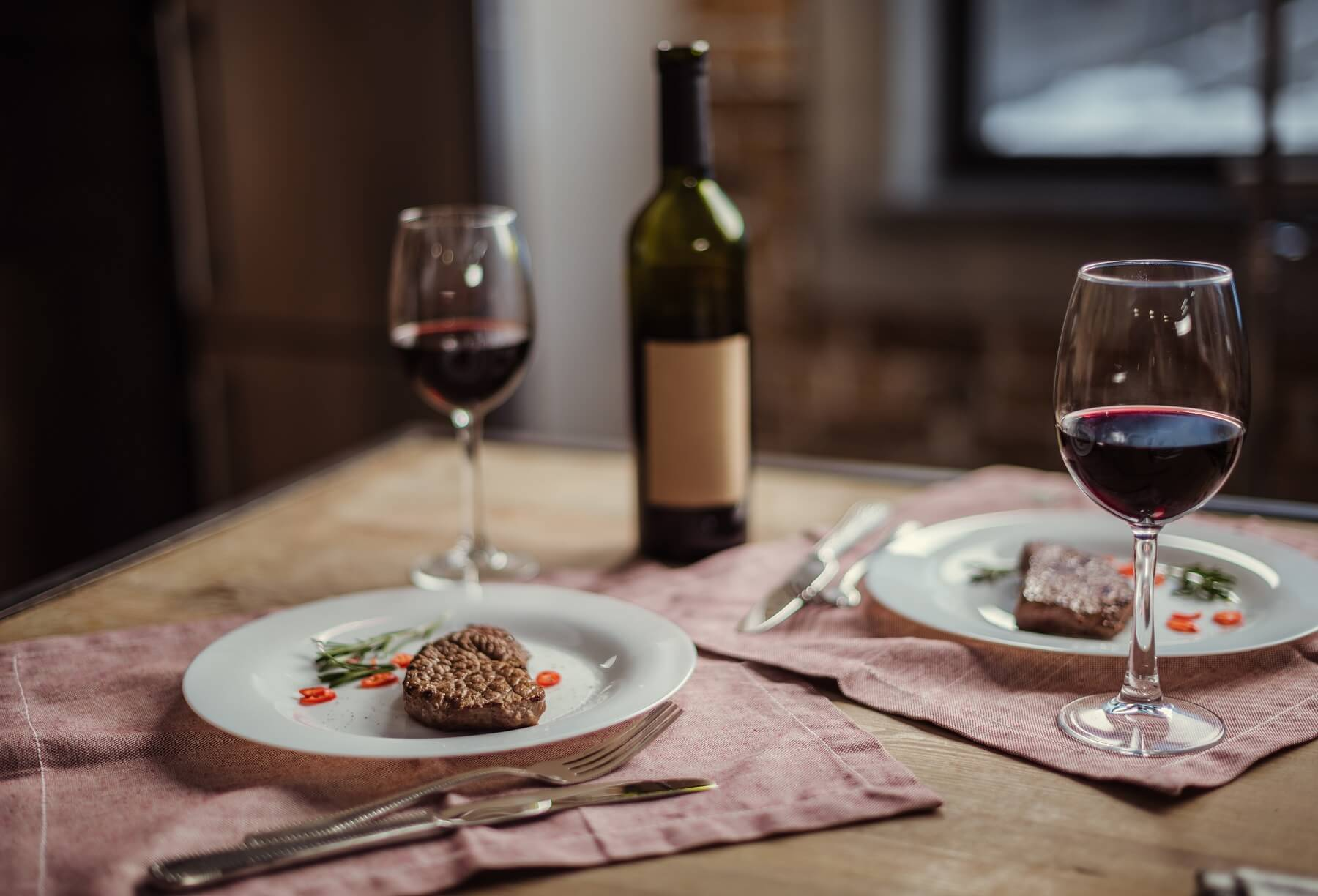 Three Romantic Valentine's Day Recipes and Wine Pairings
