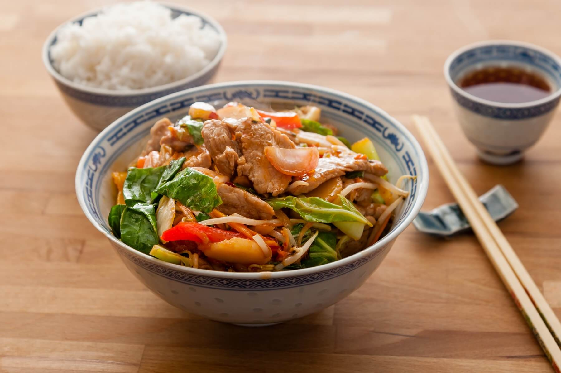 Pork with Sweet and Sour Onions Recipe