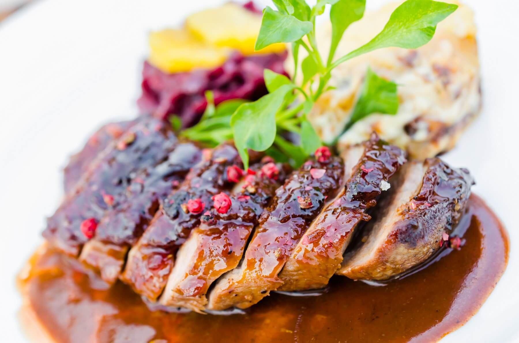 Perfect Duck Breast and Cabbage Recipe