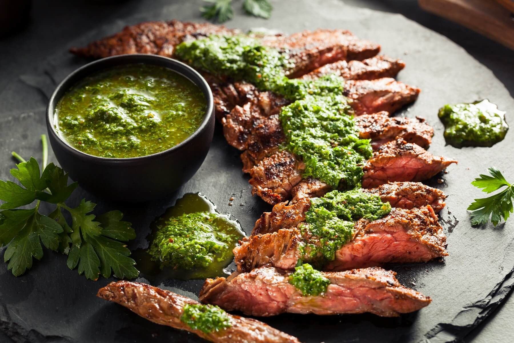 Steak with Argentinian Chimichurri Recipe
