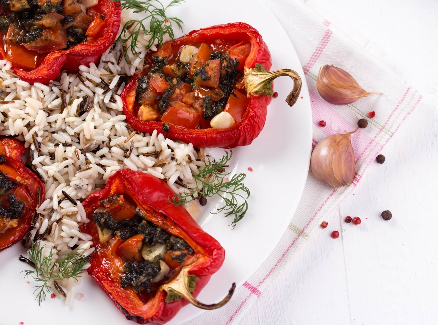 Piedmont Roast Peppers Recipe