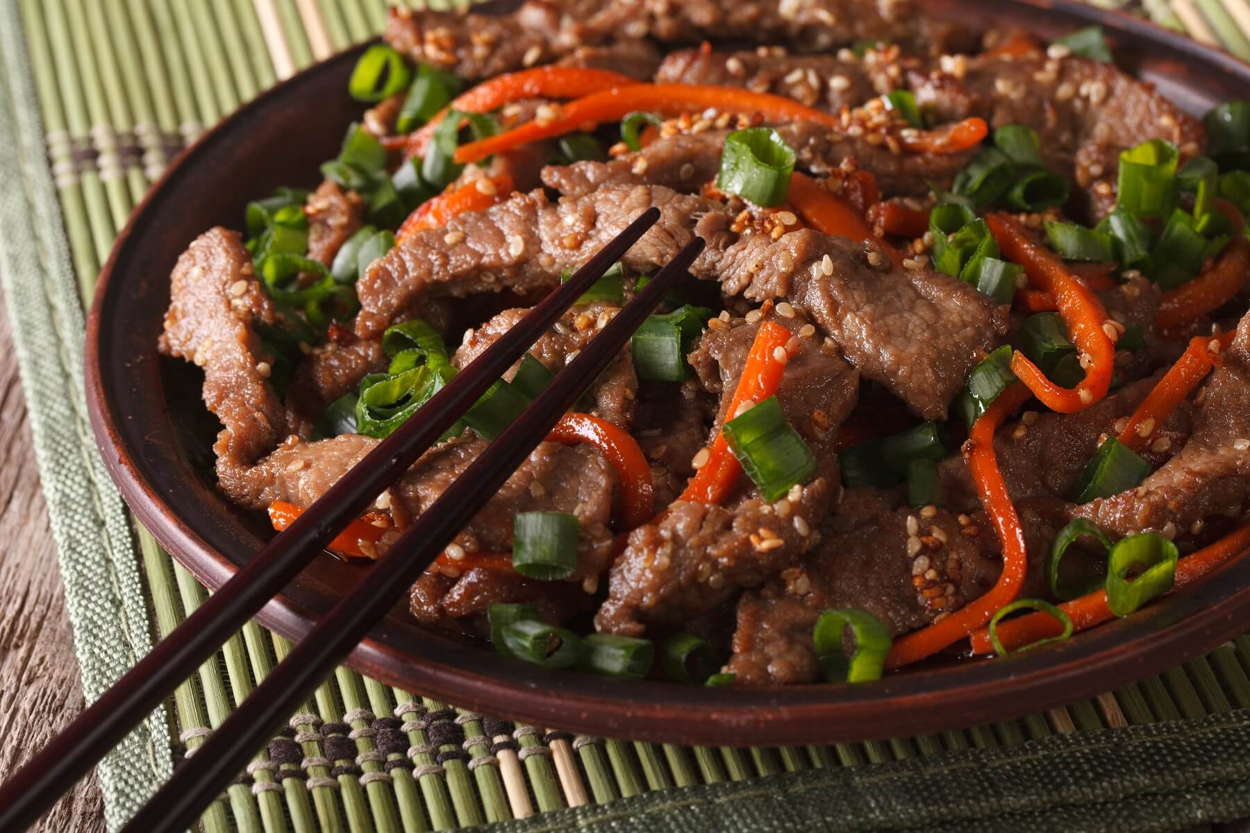 Beef and Shiitake Stir Fry Recipe