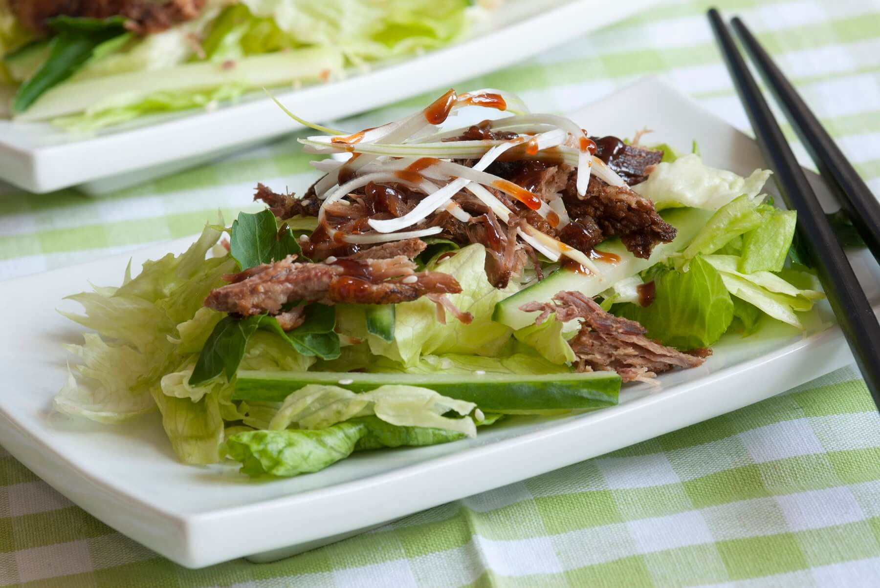 Hoisin Duck Salad Recipe