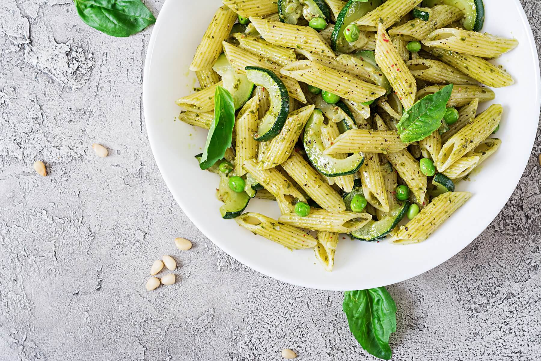 Easy Peasy Pesto Salad