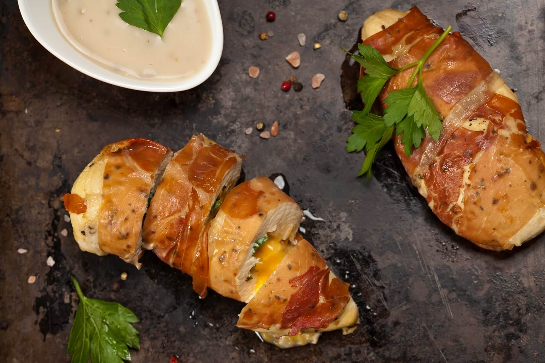 Mustard Stuffed Chicken Recipe