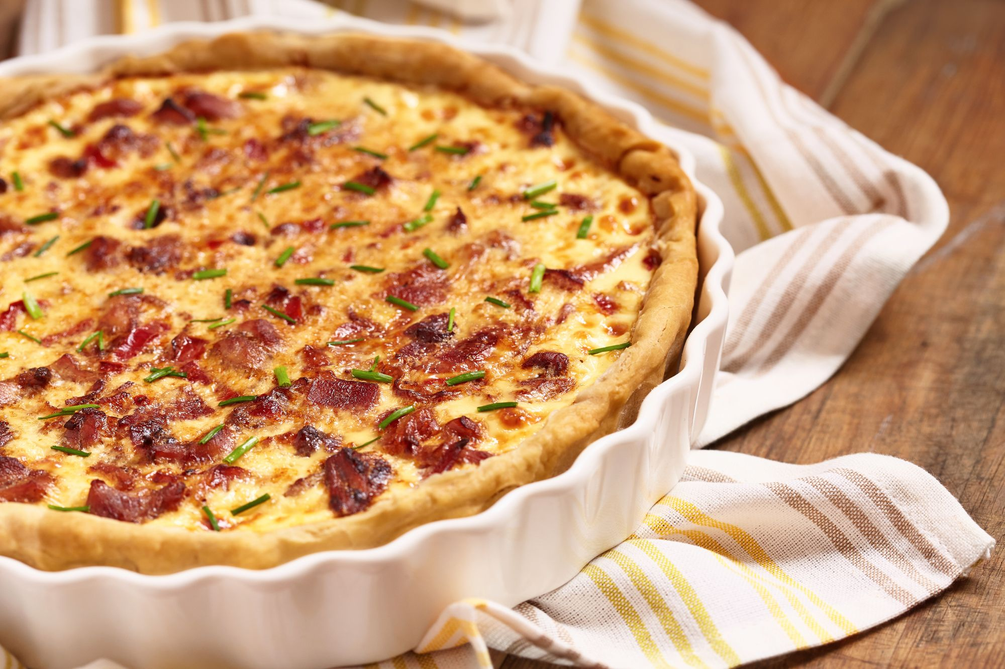 Blue Cheese and Bacon Tart