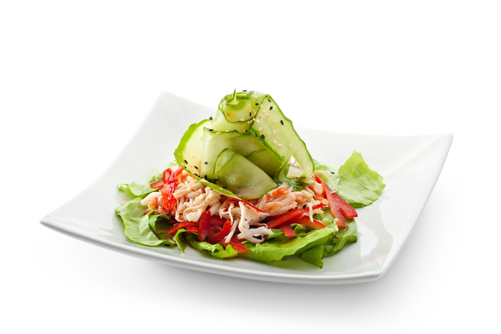 Best Ever Crab Salad