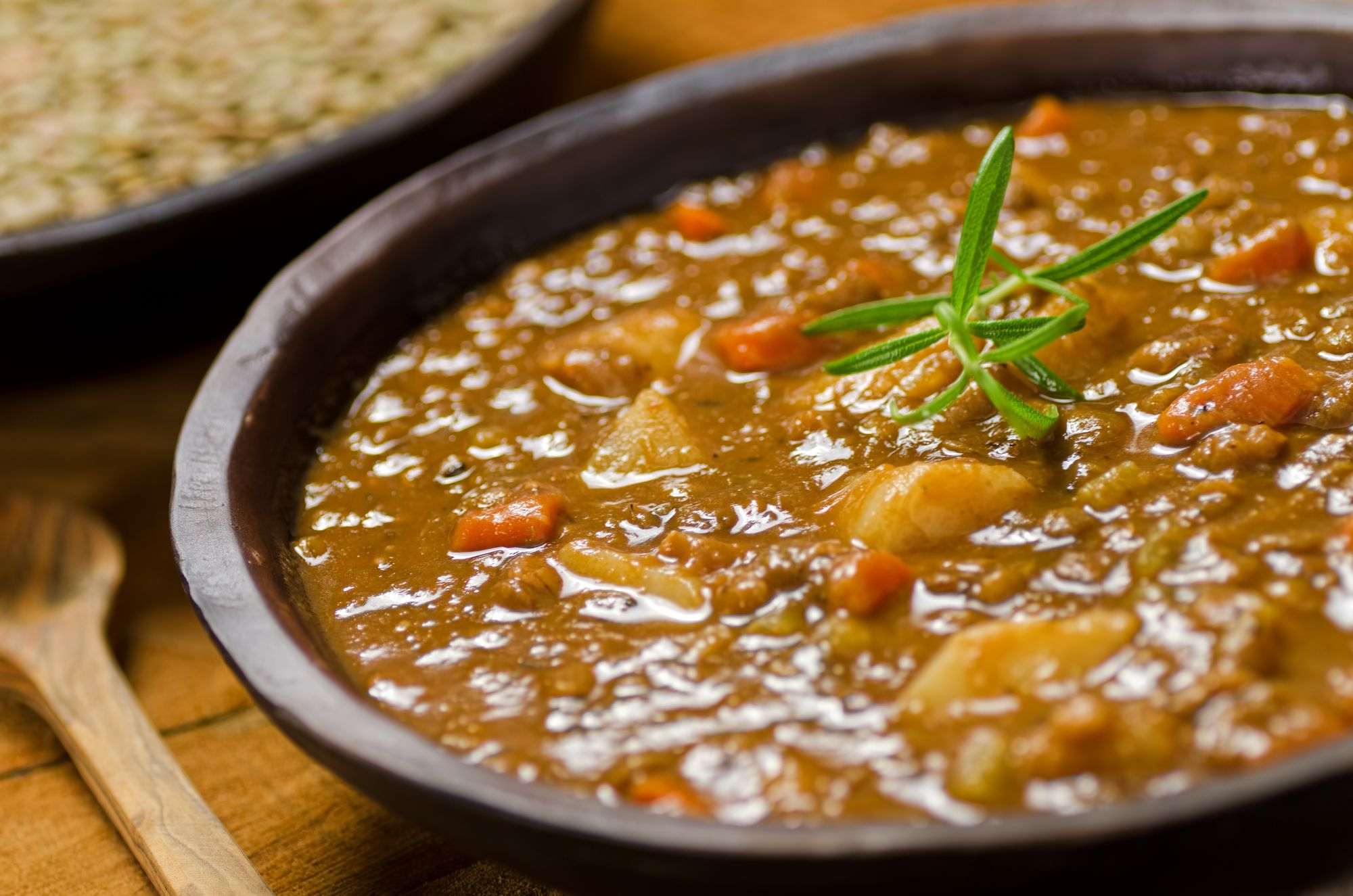 Hearty Sausage and Lentil Stew