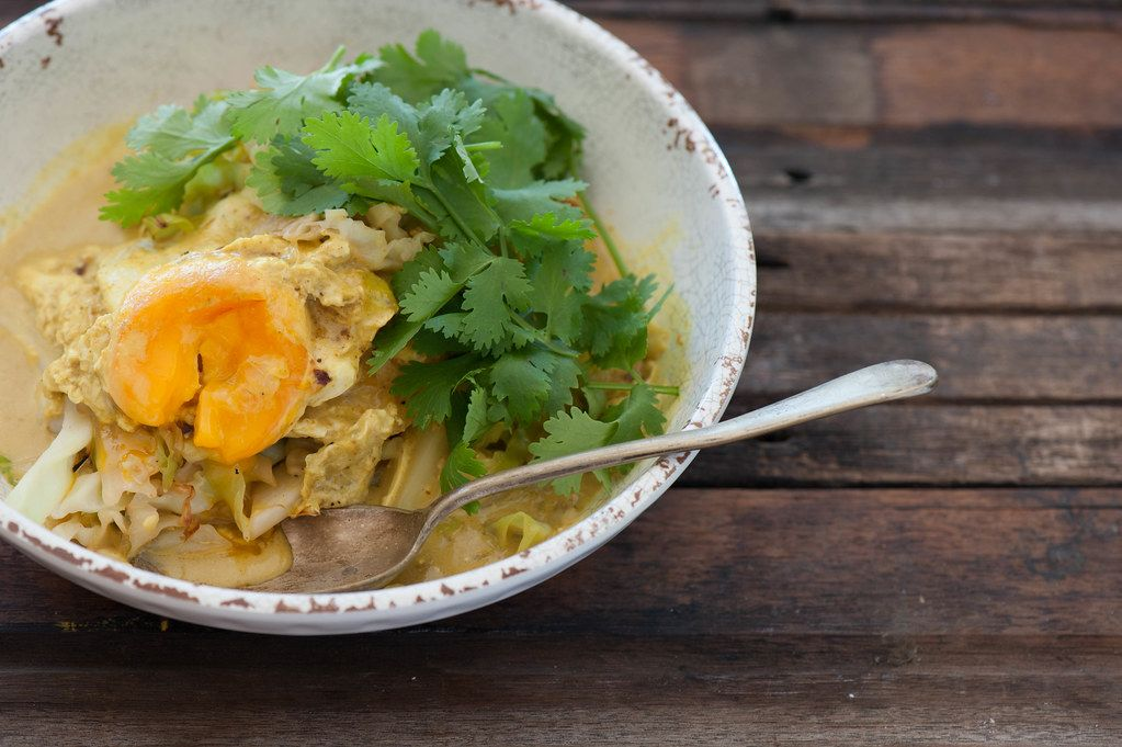 Malaysian Golden Egg Curry