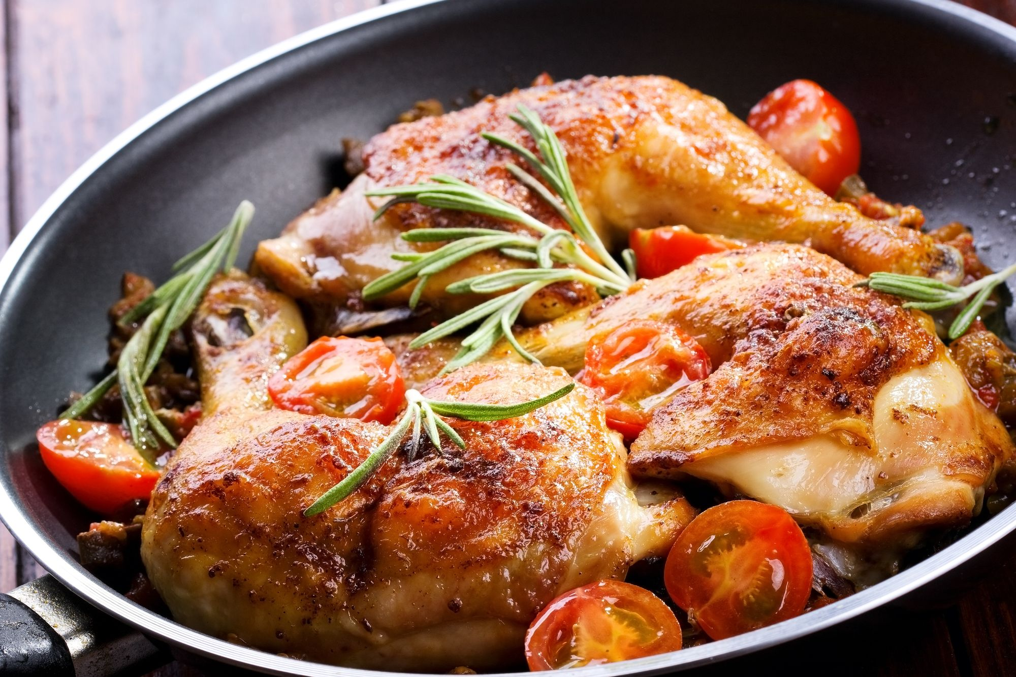Classic Mediterranean Chicken and Vegetables