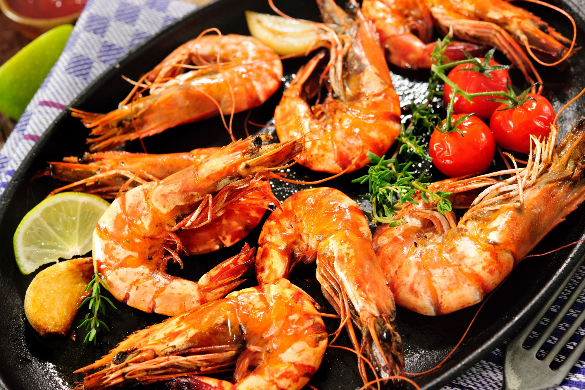 Spanish-Style Garlic Prawns