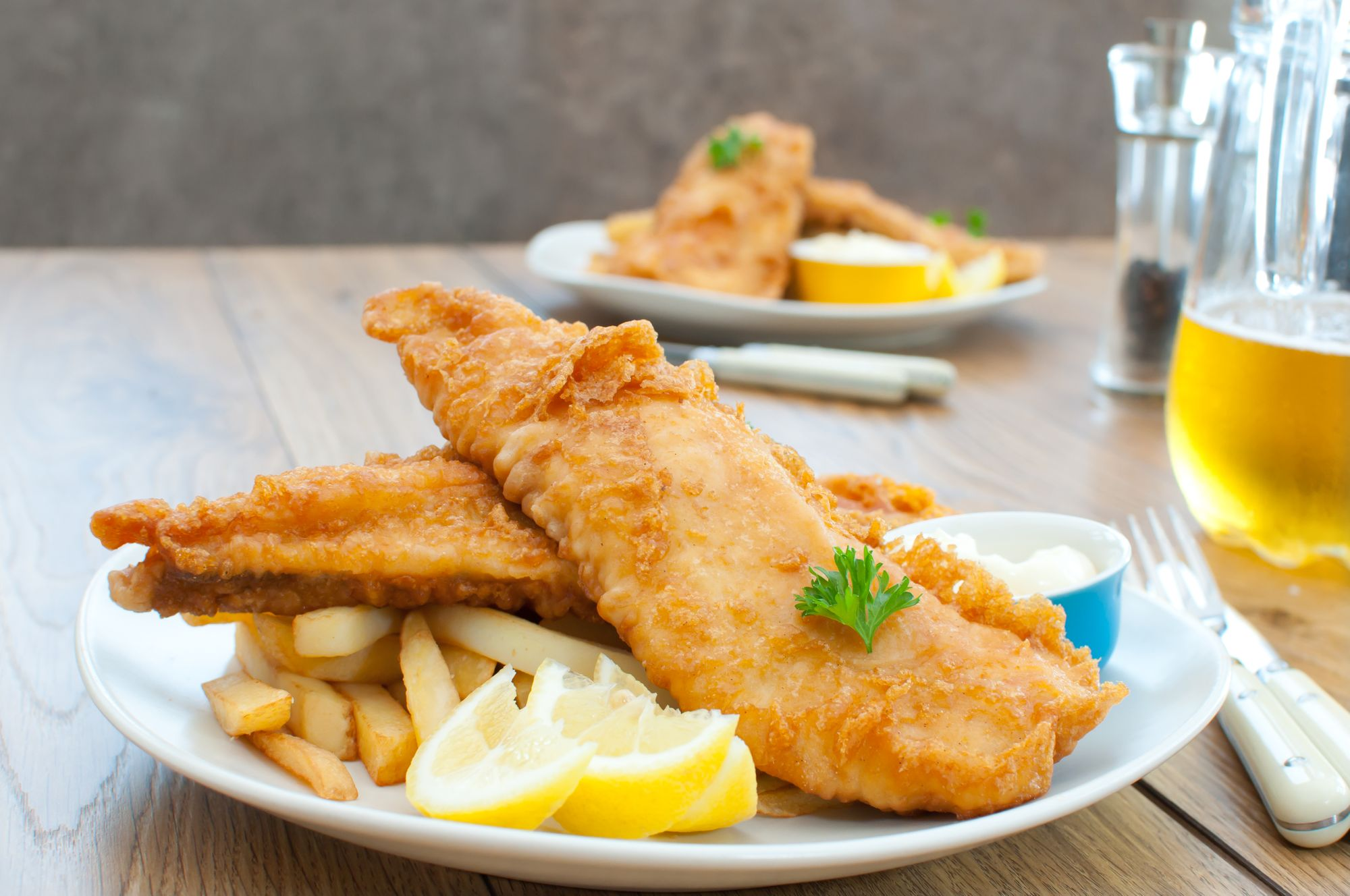 Beer Battered Cod