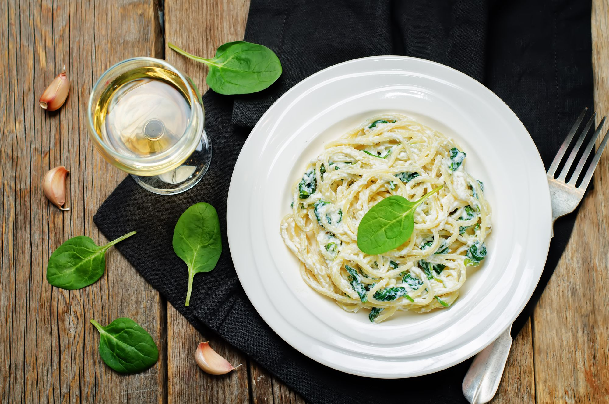 Perfect Spinach and Ricotta Pasta