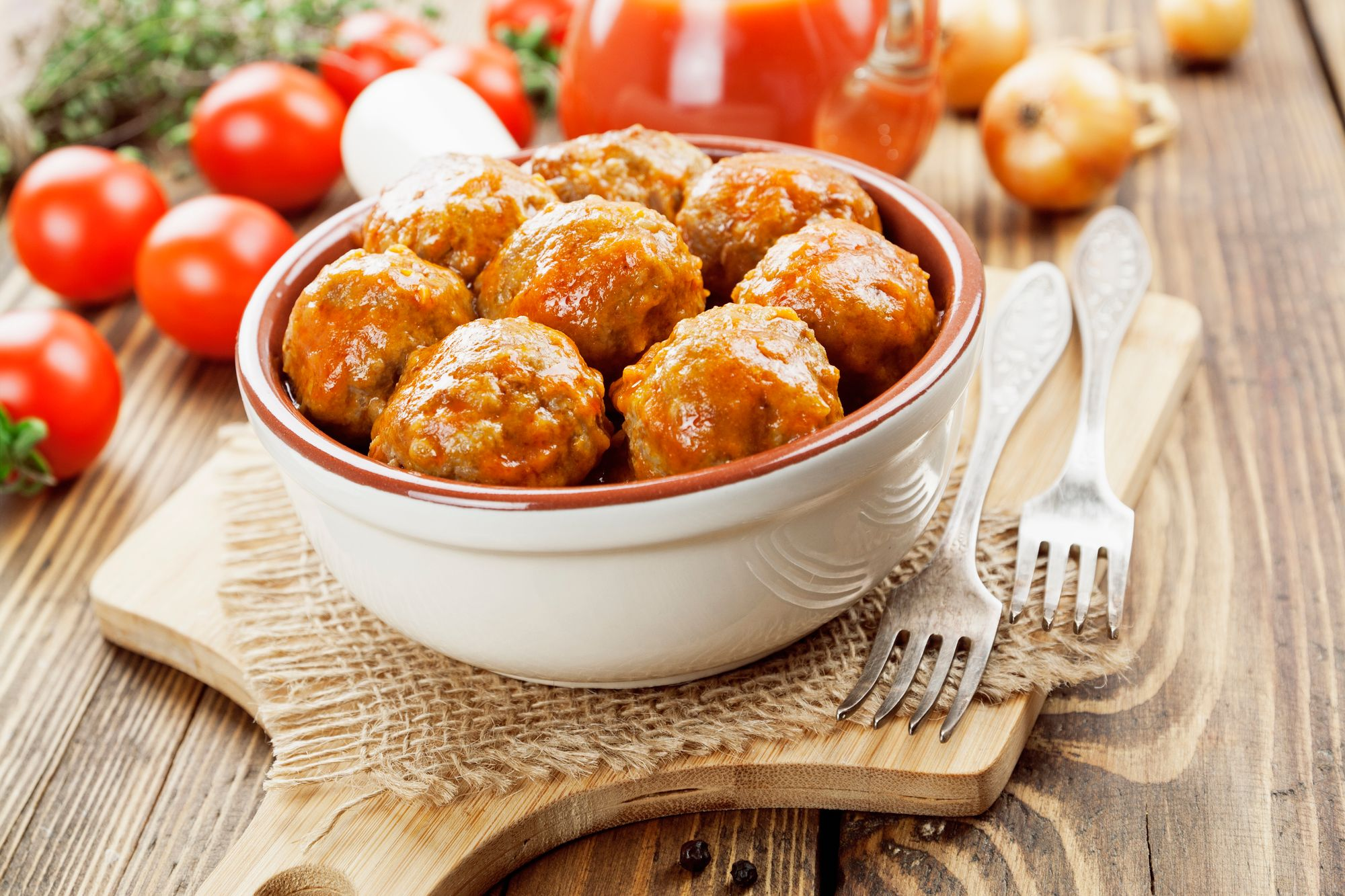 Lamb and Cherry Meatballs