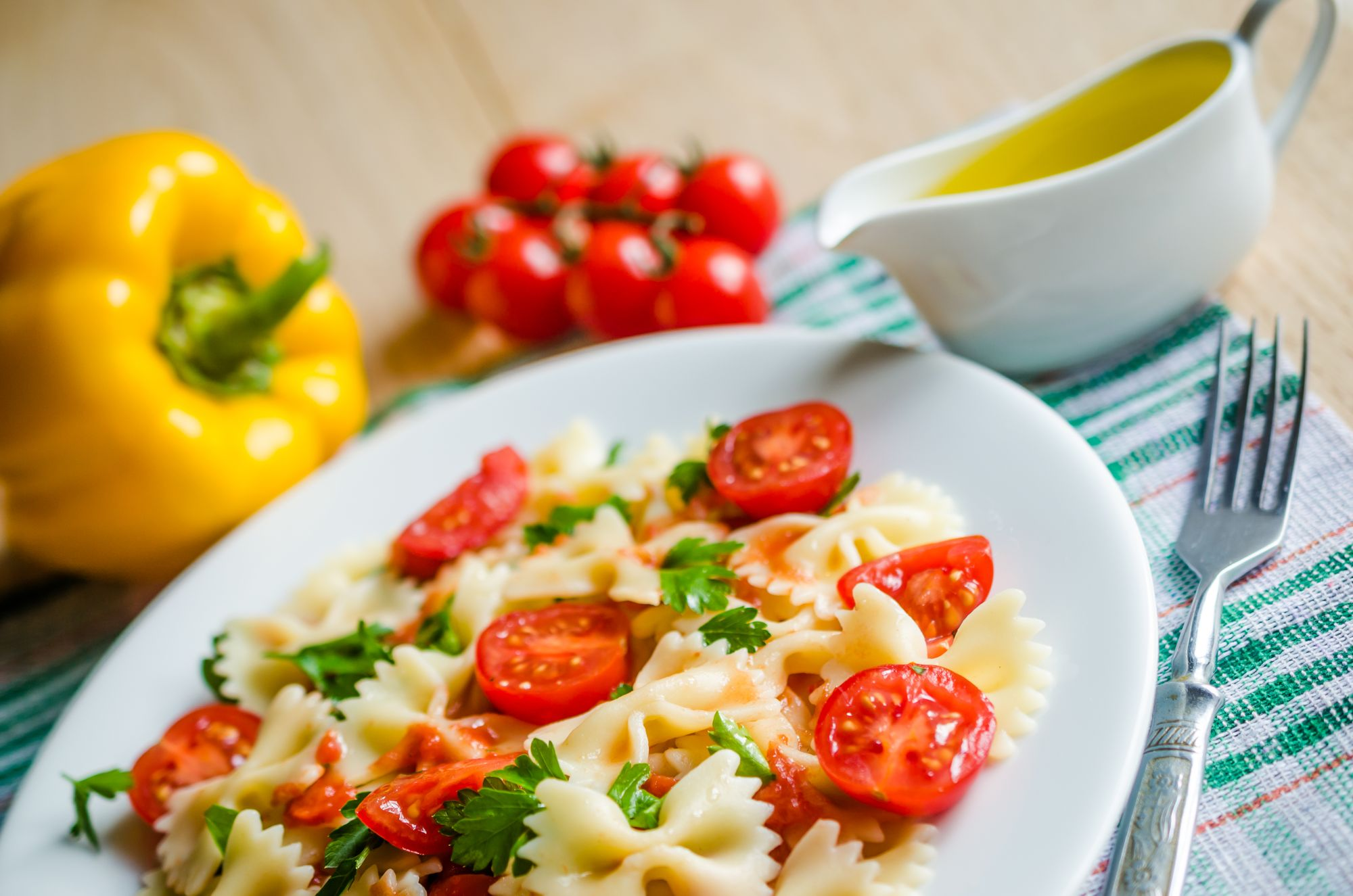 Pasta with Buttered Tomatoes