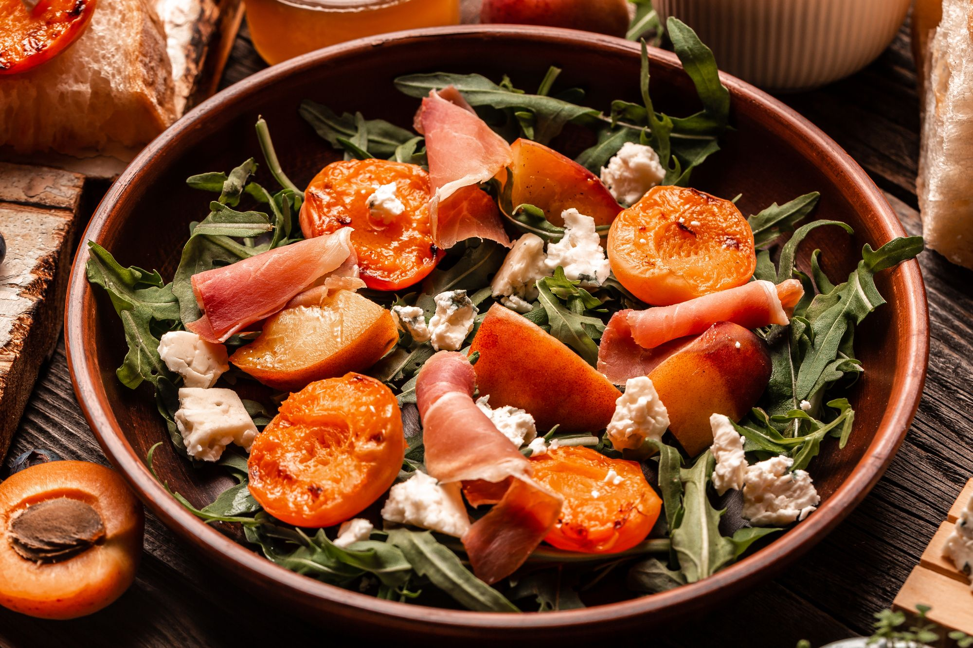 Chargrilled Peach Salad