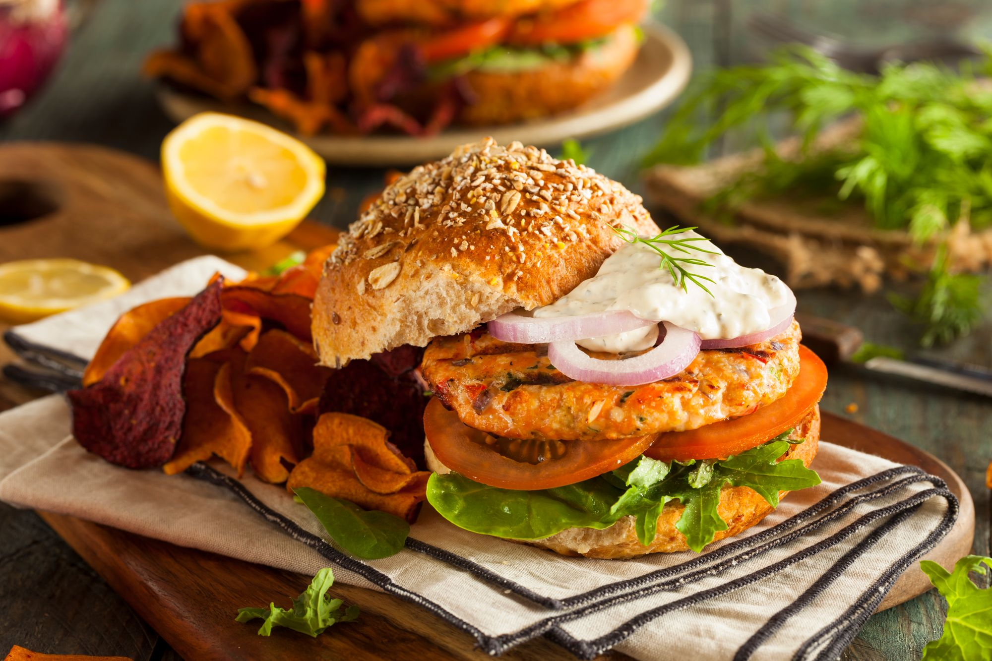 Best Ever Fish Burgers
