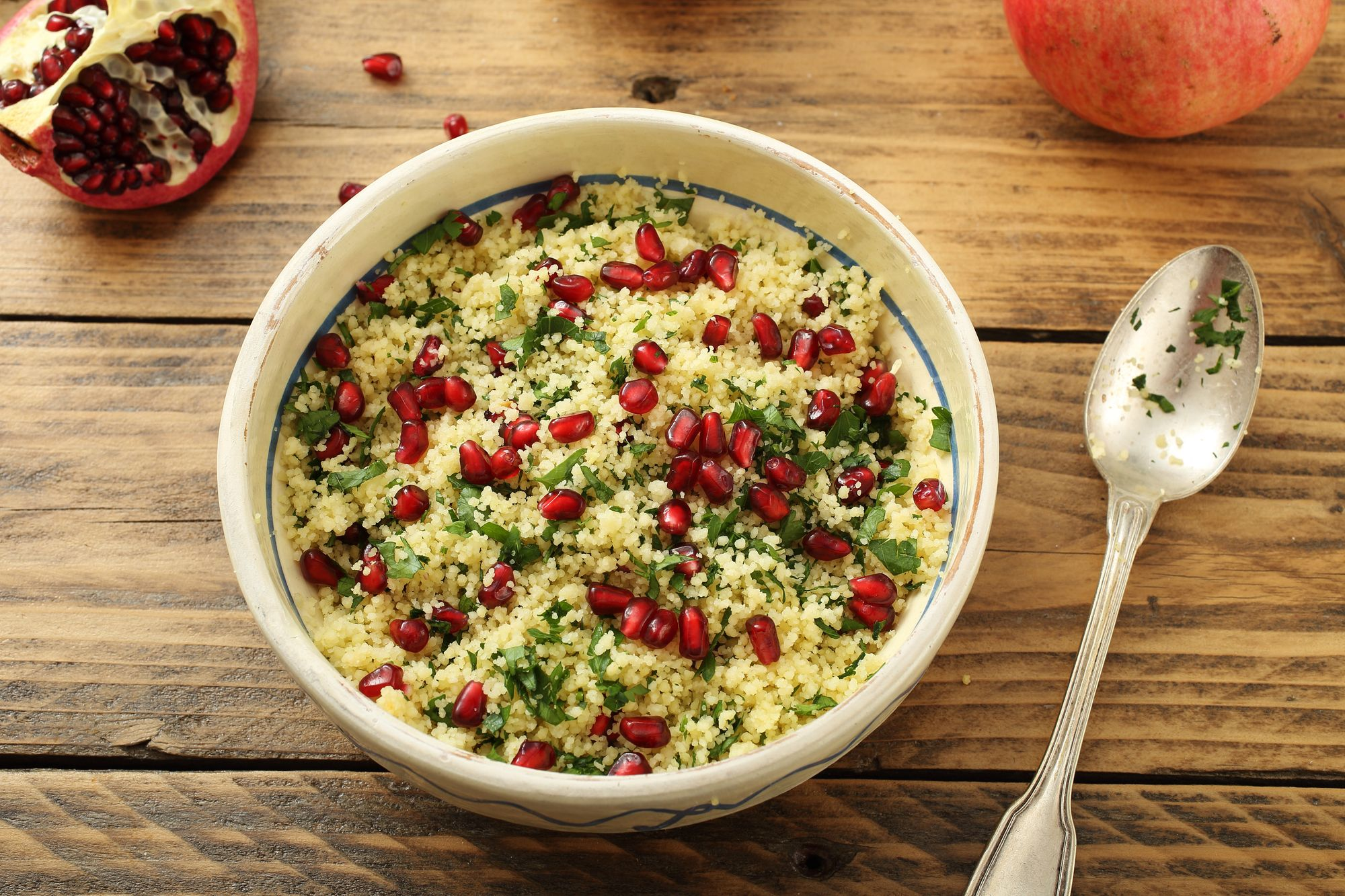 Parsley and Pomegranate Tabbouleh