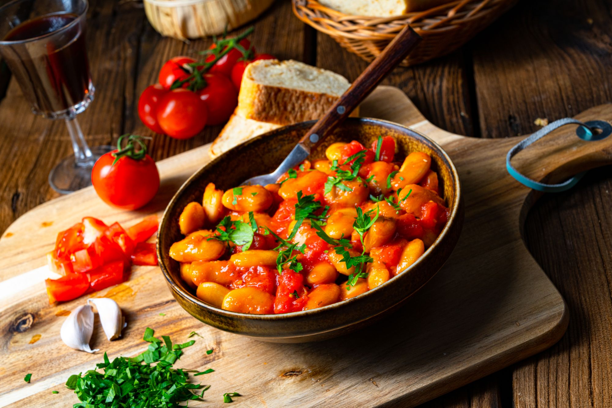 Greek Bean Stew