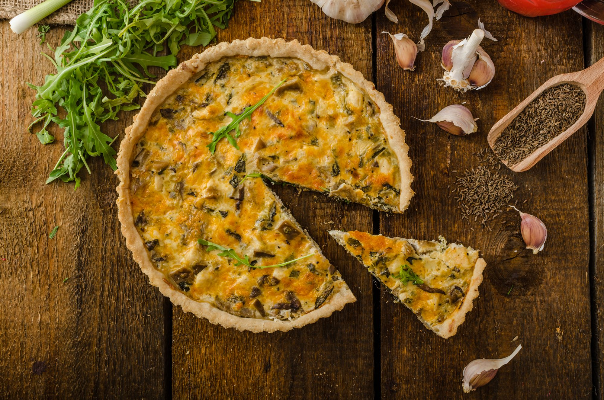 Easy Lobster and Crab Tart