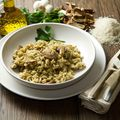 Simple Mushroom Risotto Recipe and Wine Pairing