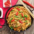 Pork Chow Mein Recipe and Wine Pairing