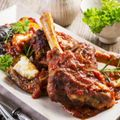 Wine Braised Lamb Shanks Recipe
