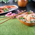 Thai Rice with Prawns and Peas Recipe