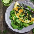 Italian Frittata with Salmon and Peas Recipe