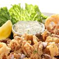 Crispy Squid and Capers