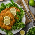 Lemon, Parmesan, and Pine Nut Schnitzel