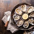Apple and Horseradish Oysters