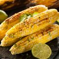 Charred Corn with Cayenne Butter