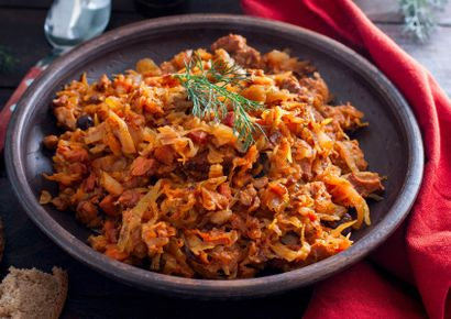 Pork Bigos Stew Recipe