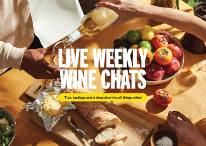 Live Weekly Wine Chats